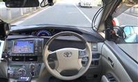 ZMPは運転席に人がいない状態で公道を走らせる実証実験を行った=平成29年12月、東京都江東区(同社提供)