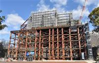 【熊本地震】熊本城「奇跡の櫓」解体作業公開 崩れた石垣復旧へ