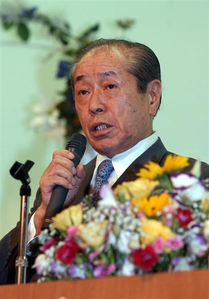 死去した野中広務氏に、京都の関係者からも冥福を祈るコメントが相次いだ=京都市南区(平成17年8月)