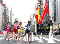 【大阪国際女子マラソン 速報(6)】折り返し地点通過 先頭集団は日本人ランナーの3人、…
