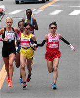 【大阪国際女子マラソン】安藤友香、レース中、ドリンク渡された松田に感謝「人間性見習うべ…