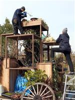 【うめきたガーデン】こだわりの庭続々、「全日本フラワーガーデンコンテスト」作品制作始ま…