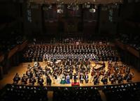 海道東征コンサート、建国の勇壮な調べ1700人魅了 大阪