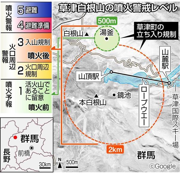 草津白根山噴火で警戒レベル3なのに町長が レベル1 と言い張るワケ