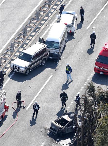 動画】京滋バイパスで多重事故 ...