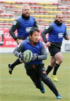 【ラグビー】寒空で厳しい練習継続 北九州合宿のサンウルブズ