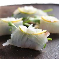 【料理と酒】シャンパンと白ワインにぴったりな前菜 ヒラメとリンゴとパクチーのアミューズ