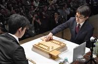 【将棋】藤井聡太五段が羽生善治二冠と対戦 将棋、中学生初V目指す