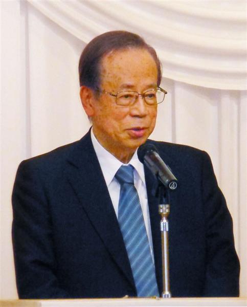憲法改正】福田康夫元首相、憲法...