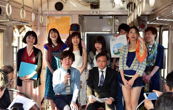 銚子電鉄内で9年ぶりに演劇 沿線...