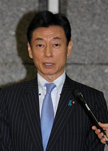 西村康稔官房副長官、カジノ入場...