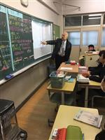 【NIE】大阪・門真二中で社会科授業 産経新聞担当部長が解説