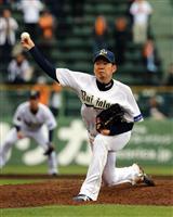 【プロ野球】オリックス西 開幕投手に近づく 巨人打線相手に5回無失点