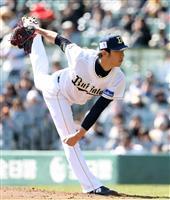 【プロ野球】オリ1位ルーキー田嶋、5回2失点 オ2-巨7