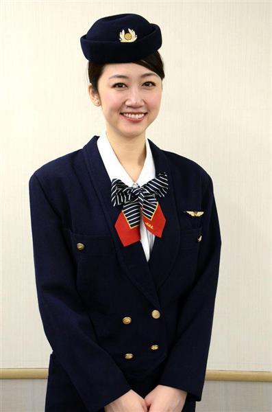 【制服図鑑(客室乗務員編)】7代目肩が張ったダブルジャケット バブル全盛期を反映 日本航空(JAL) - 産経ニュース