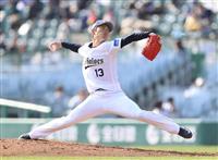 【プロ野球】オリ山岡が6回無失点 オ6-西2