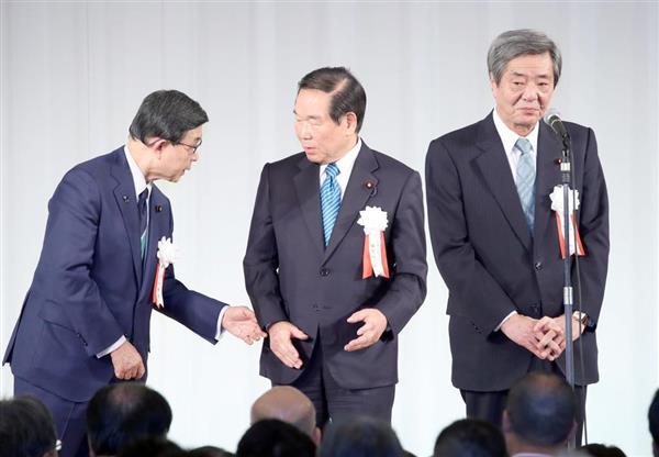額賀福志郎会長「後進に道譲る」派閥会長退任を正式表明 後任は竹下亘 ...