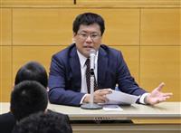 【NIE】「好奇心を大切に」兵庫・多可の加美中学で本紙記者講義