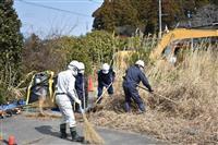 【東日本大震災】「復興拠点」の除染を開始 福島県大熊町 最大460棟を解体へ