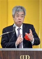 「将来はウィーンで『海道東征』演奏会を」 文芸批評家・新保祐司氏が大阪で「正論大賞」受…