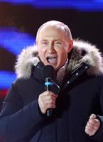 【露大統領選】プーチン氏、北方領土でも圧勝