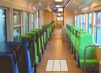 【鉄道ファン必見】シースルー車両、狭いレール幅「ナローゲージ」四日市あすなろう鉄道に導…