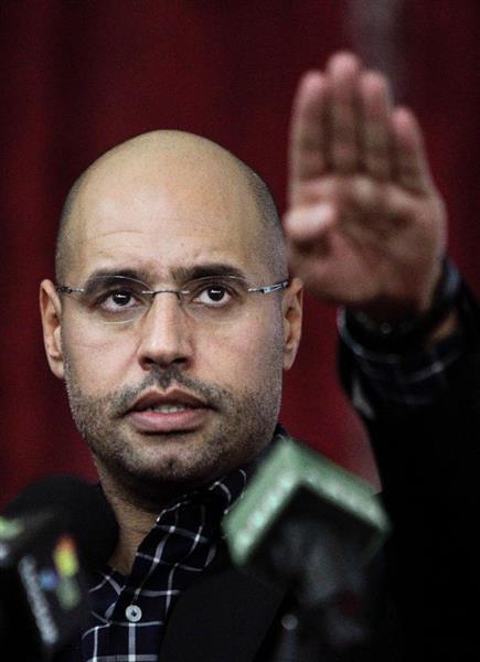 リビア大統領選にカダフィ氏次男が出馬意向  - 産経ニュース