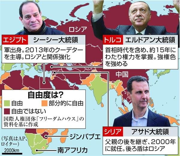 独裁者の時代】(下)シリアに近...
