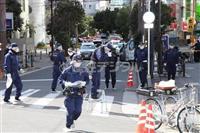 【衝撃事件の核心】「殺すぞ、任意やろ」叫ぶ刃物男に警察官が発砲…休日の繁華街、緊迫した…