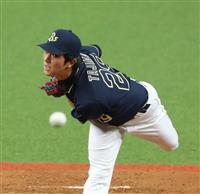 【プロ野球】ルーキー田嶋、試合中に修正 オリックス