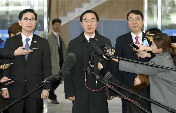 【激動・朝鮮半島】南北首脳会談の日程確定へ 閣僚級会談始まる 焦点は非核化 - 産経ニュース