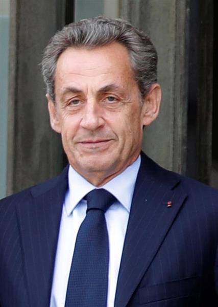 フランスのサルコジ元大統領(ロイター=共同)