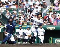 【センバツ】三重、打って走れる2番打者・浦口が躍動 準々決勝進出