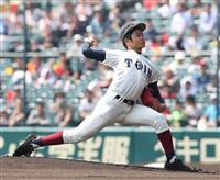 【センバツ決勝 速報(1)】大阪桐蔭の先発は二刀流の根尾 初回のピンチを乗り切る