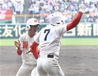 【センバツ決勝 速報(4)】4回、智弁和歌山が東妻の2点タイムリーで先制 裏に大阪桐蔭…
