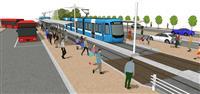 岡山の吉備線、次世代型路面電車に JR西と地元2市が導入合意