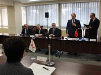 【東日本大震災】トルコ副首相ら仙台市訪問 防災・復興で指南申し入れ