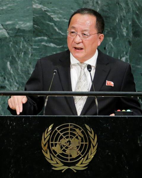 北朝鮮外相、トルクメニスタン訪...