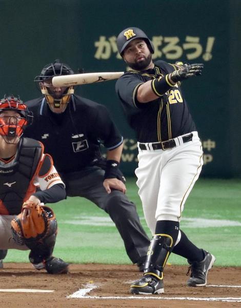 開幕7試合4勝3敗の金本阪神。期待のウィリン・ロサリオ内野手も打率・222、本塁打1本と波に乗れなかったが、春眠から覚醒する予兆が =東京ドーム(矢島康弘撮影)