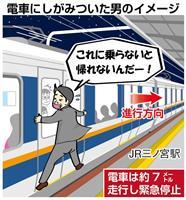 【衝撃事件の核心】終電にしがみついたサラリーマン、電車止め現行犯逮捕…小さくない深酒の…