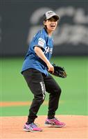 【プロ野球通信】高木菜那、小平奈緒、欅坂46…2018年シーズン開幕 始球式から見えた…