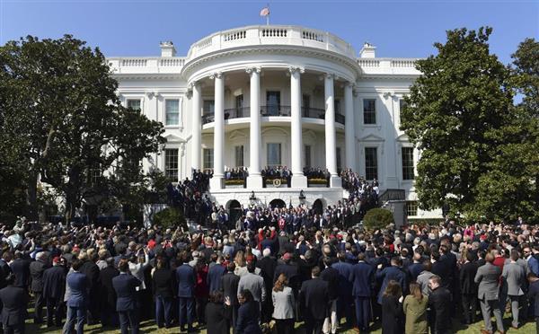 米ワシントンのホワイトハウス。世界の政治を動かす、このワシントンにある米国唯一の朝鮮半島専門シンクタンク「米韓研究所」が閉鎖されるという(AP)