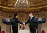 【日米首脳会談】共同記者会見(1) トランプ大統領「拉致被害者が日本に帰れることをシン…