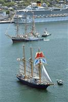長崎で帆船まつり開幕