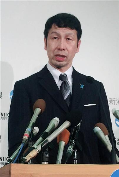 米山隆一新潟知事辞職表明 金銭...