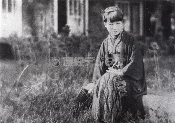 昭和3年撮影の宇野千代。梶井基次郎との関係がうわさとなり尾崎士郎と離婚(日本近代文学館提供)