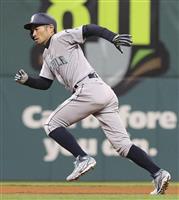 【MLB】イチローは代走で決勝の得点 「別に僕じゃなくてもいいわけで」