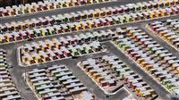 まるで「シムシティ」 メキシコ郊外の新興住宅地を空撮 政府による無秩序な住宅計画で現れ…