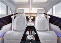 後部座席にティーセット 北京モーターショーで発表されたメルセデスの「超高級EV」