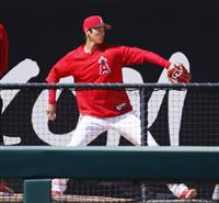 【MLB】大谷翔平、イチローと初対戦か…1日は登板回避、マリナーズ3連戦に先発予定
